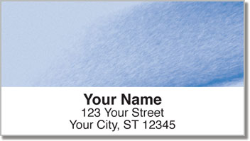 Colorful Vapors Address Labels