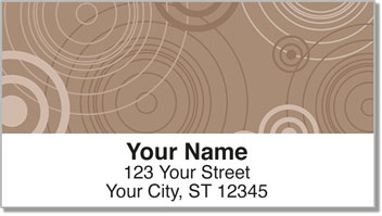Retro Radar Address Labels