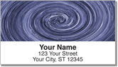 Super Swirl Address Labels