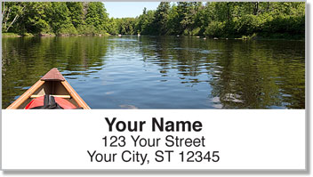 Canoeing Address Labels