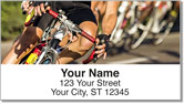 Bike Racing Address Labels