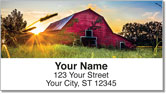 Barn Address Labels