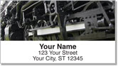Classic Train Address Labels