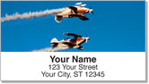 Aerobatic Air Show Address Labels