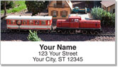 Model Train Address Labels