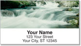 Rushing Rapids Address Labels