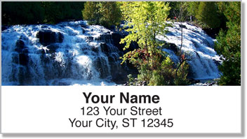 Waterfall Address Labels