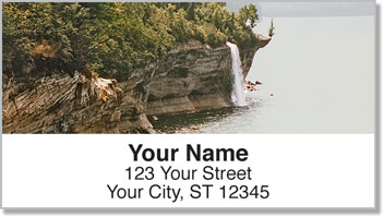 Waterfalls in Paradise Address Labels