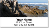Rocky Coastline Address Labels