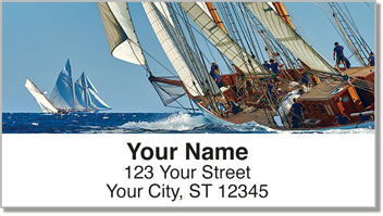 Sailing Address Labels