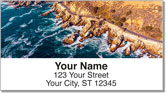Scenic Coastline Address Labels