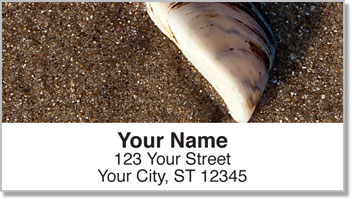 Caribbean Beach Address Labels