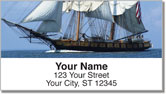 Tall Ship Address Labels