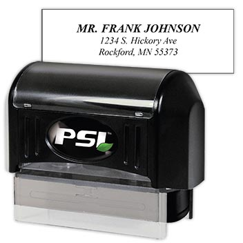 Serif Return Address Stamp