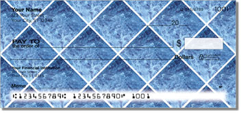 Blue Marble Tile Checks