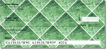 Green Marble Tile Checks