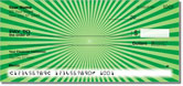 Green Starburst Checks