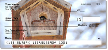 Wooden Birdhouse Checks