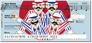 TuneTown Boys Barbershop Quartet Checks