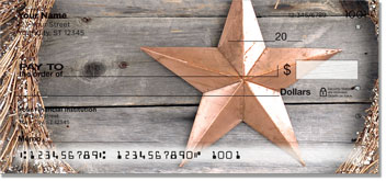 Rustic Star Checks