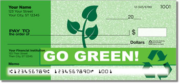 Going Green Checks