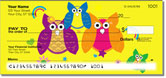 Colorful Owl Checks