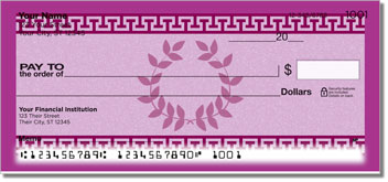 Greek to Me Checks