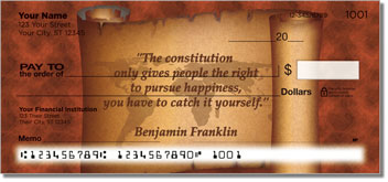 Patriotic Quote Checks