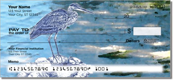 Blue Heron Checks