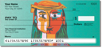 Picasso Portrait Checks