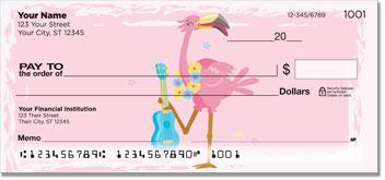 Fun Flamingo Checks