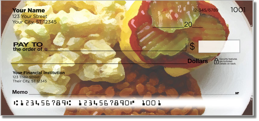 Cookout Personal Checks