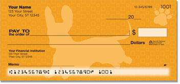 Wiener Dog Personal Checks