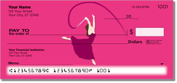 Ribbon Dancing Checks