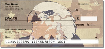 Patriotic Eagle Checks