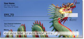 Chinese Dragon Checks