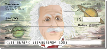 Albert Einstein Checks