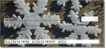 Christmas Snowflake Checks