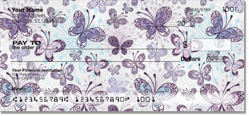 Butterfly Scroll Checks