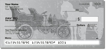 Antique Automobile Checks