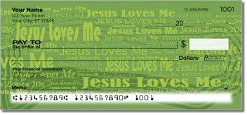 Jesus Loves Me Checks