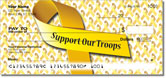 Support Our Troops Checks