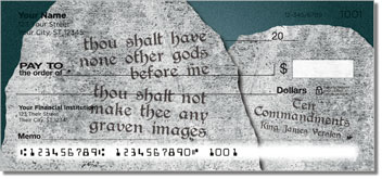 Ten Commandments Checks