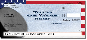 Herb Brooks Checks