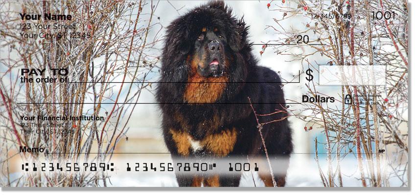 Mastiff Silhouette Checks