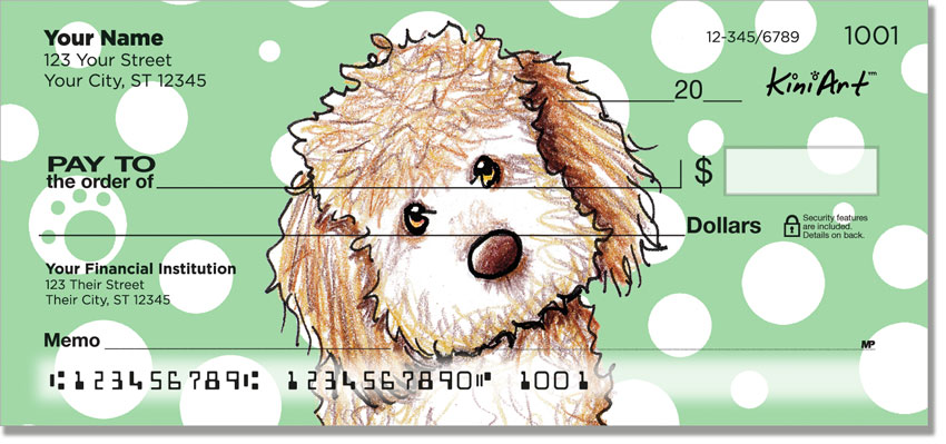 Labradoodle Doodle Series Personal Checks