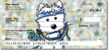 West Highland Terrier Fairytale Series Checks