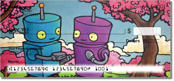Robots In Love Checks