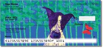 Love Me Love My Dog Checks