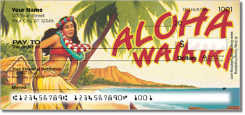 Hawaiian Art Checks